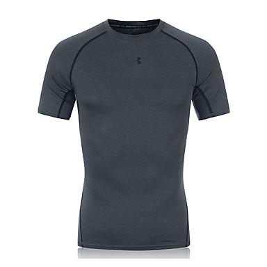 Herrn Kurze Ärmel Laufen Sweatshirt Atmungsaktiv Rasche Trocknung Videokompression Schweißableitend Frühling Sportbekleidung Laufen