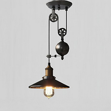 Cone Pendant Light Downlight - Mini Style, 110-120V / 220-240V, Warm White, Bulb Not Included / 5-10㎡ / E26 / E27