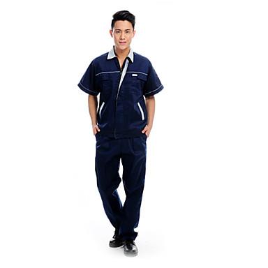 zomer met korte mouwen overalls pak mannelijke engineering beschermende kleding (grootte: 175)