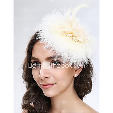 Dames Tule Veer Net Helm-Bruiloft Speciale gelegenheden  Fascinators 1 Stuk