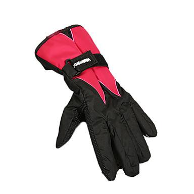 ski hansker Full Finger Dame Herre Unisex Aktivitets- / Sportshansker Hold Varm Vanntett Ski & Snowboard Sykkelhansker Skihansker