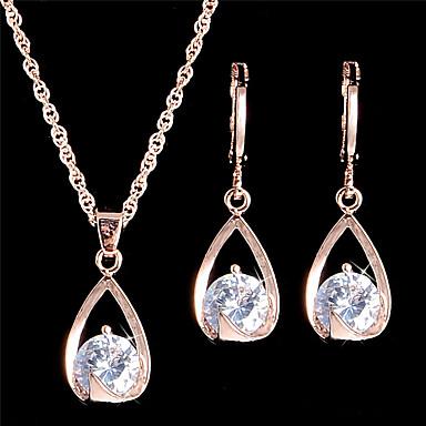 Schmuck Halsketten / Ohrringe Halskette / Ohrringe / Braut-Schmuck-Sets / Set Einstellbar / Modisch / VintageHochzeit / Party / Alltag /