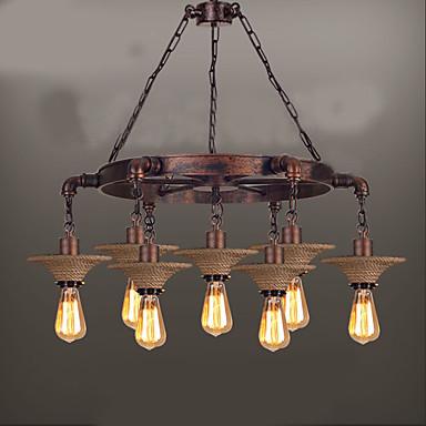 7-Light Vedhæng Lys Ned Lys - Ministil, 110-120V / 220-240V Pære ikke Inkluderet / 15-20㎡ / E26 / E27
