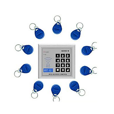 segurança& proteção kit porta sistemas de controle de acesso