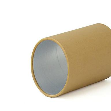 kraft houten deksel caddy taiwan papier papier blikjes groene thee pot generieke verpakking van levensmiddelen op maat groothandel 9 * 9