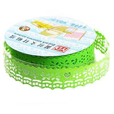 groene kleur ander materiaal verpakking& scheepvaart tape een pak van vijf