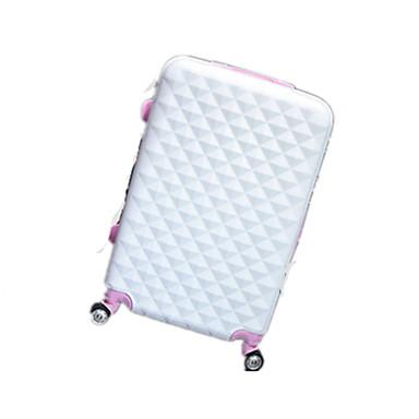 Unisexe Métallique Extérieur Bagages Blanc / Rose / Bleu / Noir / Fuchsia
