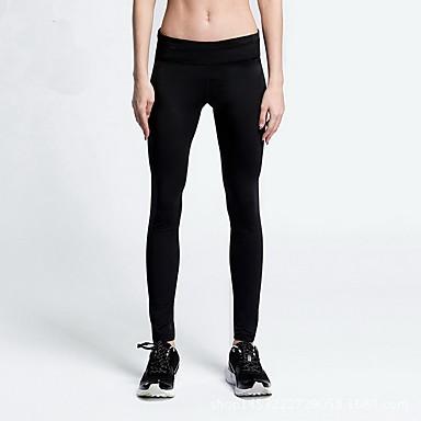 Unisex Joogahousut - Musta, Sininen, Pinkki Urheilu Pants Jooga Activewear Hengittävä, Stretch Elastinen