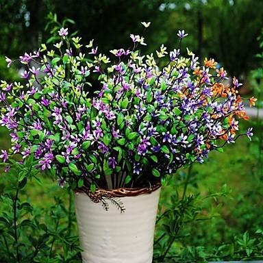 1 1 haara Polyesteri / Muovi Others Pöytäkukka Keinotekoinen Flowers 15.741inch/40cm