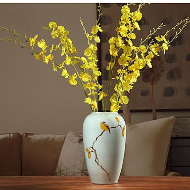 1 1 Afdeling Polyester / Plastik Others Gulvblomst Kunstige blomster 37.40inch/95cm