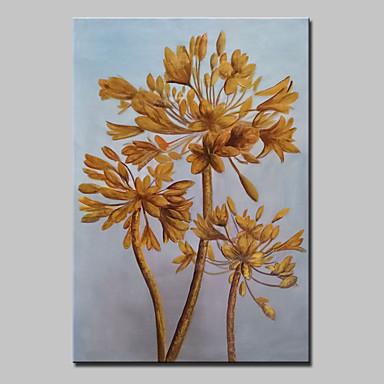 moderne abstracte met de hand beschilderd tree bloem olieverfschilderijen op doek kunst aan de muur met gestrekte frame klaar om op te hangen