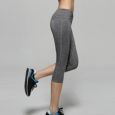 Dames Strakke hardloopbroek - Donker Grijs, Roze, Grijs Sport Broeken / Regenbroek / Overbroek / Kleding Onderlichaam Yoga Sportkleding
