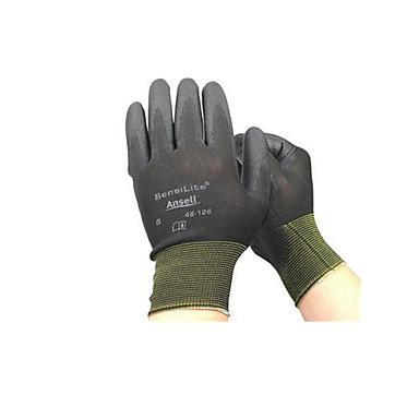 lichtgewicht palm coating mechanische beschermende handschoenen non-disposable maat 9 twee paar verpakt voor de verkoop