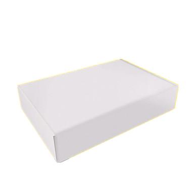 nove 270mm * caixas de 165 milímetros * 50 milímetros de aeronaves branco por embalagem