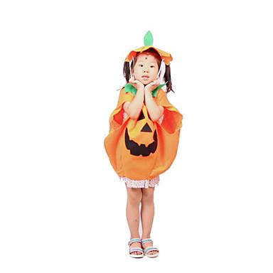 Cosplay Kostumer Festkostume Eventyr Festival/Højtider Halloween Kostumer Orange Trykt mønster Trikot/HeldragtskostumerHalloween Barnets
