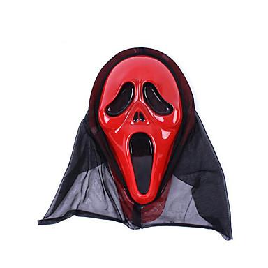 Hallloween figuren Gemaskerd Bal Spook Festival/Feestdagen Halloweenkostuums Opdruk Masker Halloween Unisex Latex
