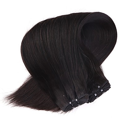 neitsi 18 'jomfruelige malaysiske glat hår islæt naturlige sort 1b # billige remy menneskehår væve bundter' tangle gratis