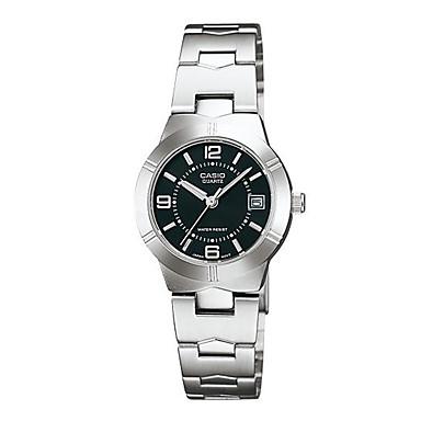 Mulheres Quartzo / Venda imperdível Aço Inoxidável Banda Luxo Casual Relógio Elegante Fashion Prata