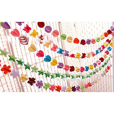 Øko-venligt Materiale Bryllup Dekorationer-1 stk / sæt Fødselsdag Rustik Theme Sommer