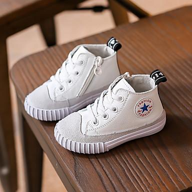 Sneakers-LæderUnisex--Fritid-Flad hæl