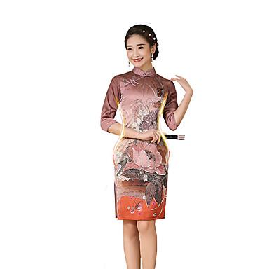 Traditionell Damen Rock A-Linie Kleid Pencil Kleid Cosplay Kürzer Länge