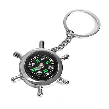 ziqiao båd styre ret kompas nøglering nyhed nøgle kæde kæde nøglering zink legering gave