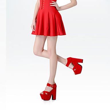 Rouge Tissu Talon amp; Evénement Boucle Plateau Chaussures Mariage Soirée Noir Soirée Sandales Bottier 05269778 Evénement Eté Femme Amande amp; 5qzwIHq