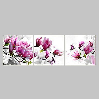 Abstract Three Panels Canvas Horizontal Panoramic Print Wall Decor Home Decoration
