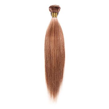 voordelige Weaves van echt haar-1 bundel Indiaas haar Yaki 10A Mensen Remy Haar Menselijk haar weeft 10-18 inch(es) Menselijk haar weeft Extensions van echt haar