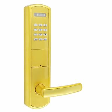 Smart Home Security Sistema Recordatorio de batería baja Hogar / Apartamento / Hotel Puerta de seguridad / Puerta de madera / Puerta compuesta (Modo de desbloqueo Contraseña / Llave mecánica / Tarjeta