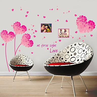 Botanisch / Stilleven / Landschap Wall Stickers 3D Muurstickers Decoratieve Muurstickers / Koelkaststickers / Bruiloftsstickers,aluminum