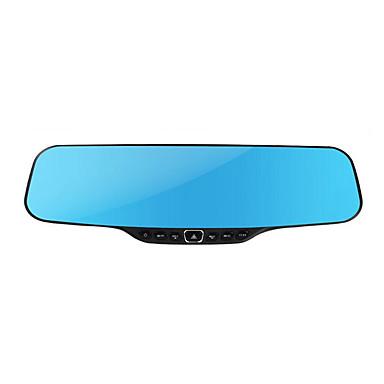 pakket zonnevlek x100 dual lens 4,3 inch achteruitkijkspiegel hd groothoek nachtzicht