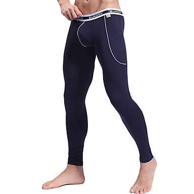Herre Grunnlag / Tights til jogging / Treningstights - Hvit, Svart, Blå sport Bukser Trening & Fitness, Fritidssport, Løp Hold Varm,