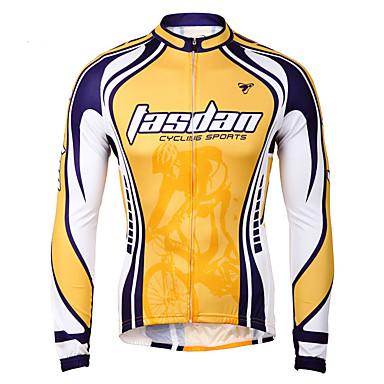 TASDAN Herrn Fahrradtrikot Solide Fahhrad Trikot / Radtrikot Rasche Trocknung, Atmungsaktiv Fahrradbekleidung