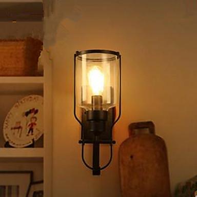 Campestre Lámparas de pared Metal Luz de pared 110-120V / 220-240V 40W
