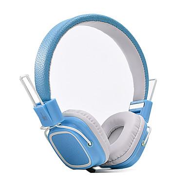 JKR JKR-112 On Ear Headband Wired Headphones Dynamic Plastic Mobile Phone Earphone Noise-isolating with Microphone HIFI Headset