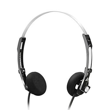 Neutral produkt AWM210 Høretelefoner (Pandebånd)ForMedie Player/Tablet / Mobiltelefon / ComputerWithMed Mikrofon / DJ / Lydstyrke Kontrol