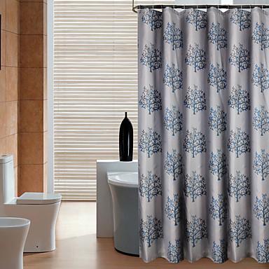 1pc Duschvorhänge Modern Polyester Bad