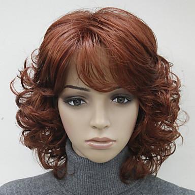 povoljno Perike i ekstenzije-Sintetičke perike Stil Perika # 130 Brown s plavom # 24B Sintentička kosa Žene Višebojne Perika Hivision