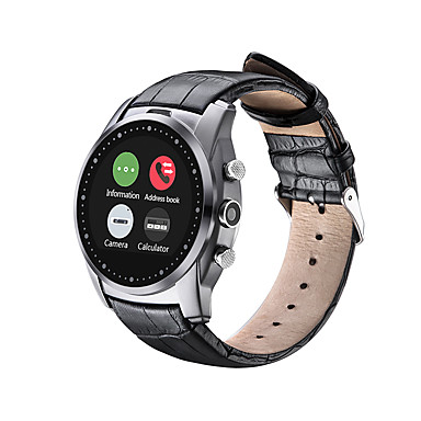 cheap Smartwatches-Smartwatch for iOS / Android Water Resistant Timer / Stopwatch / Activity Tracker / Sleep Tracker / Heart Rate Monitor / 0.3 MP / Hands-Free Calls / Media Control / Message Control / Camera Control