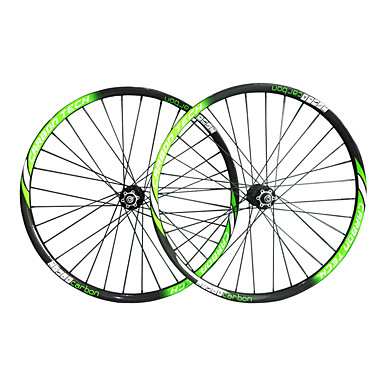 29 inch Juego de Ruedas Ciclismo 25 mm Bicicleta Montañera Carbón / Carbono completo / Legierung Ranura de la Llanta 16-32 Radios 23 mm / 50 mm