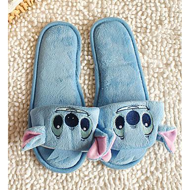 Tøfler & Klip Klapper-PVC-Komfort-Damer-Blå Lys pink-Fritid-Flad hæl