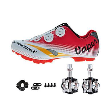 Sneakers Fietsschoenen met pedalen & schoenplaten Unisex Opvulling Bergracen