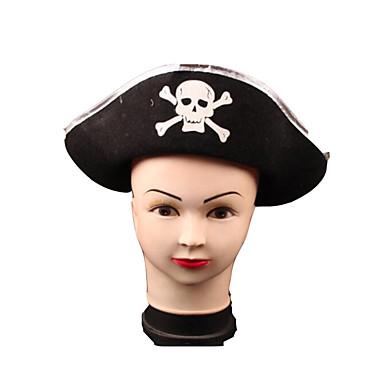 Piraat Hoeden Heren Dames Halloween Festival / Feestdagen Halloweenkostuums Print Patchwork
