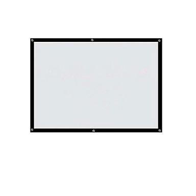 84-tommers 16 9 HD-home manuelt bærbar projektor skjermen instrument sammendrag
