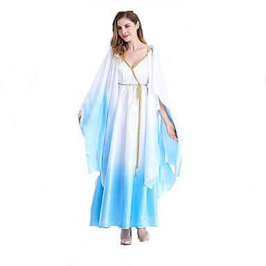 Cosplay Kostumer Eventyr Gudinde Egyptiske costumer Film Cosplay Kjole Bælte Halloween Jul Nytår Kvindelig