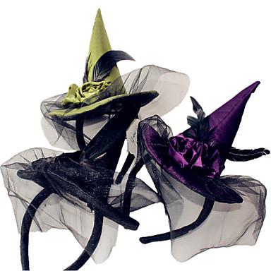 1pcs Hexe Hauptband Halloween-Hexe Kopfschnalle Halloween Partei liefert Requisiten