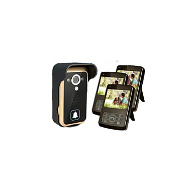 Trådløs Fotograferet Optagelse 3.5 Håndholdt 30W En til tre video Dørtelefonen