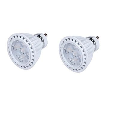GU10 LED-spotlampen MR16 5 leds SMD 2835 Decoratief Warm wit Koel wit 330lm 3000/6000K AC 110-130 AC 85-265 AC 220-240V