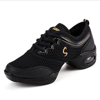 Sneakers-TylDame-Sort Rosa-Udendørs Fritid-Flad hæl